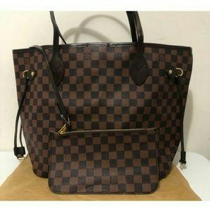 Louis Vuitton Size MM 😃😃😃😃😃😃😃 Neverfull Bag